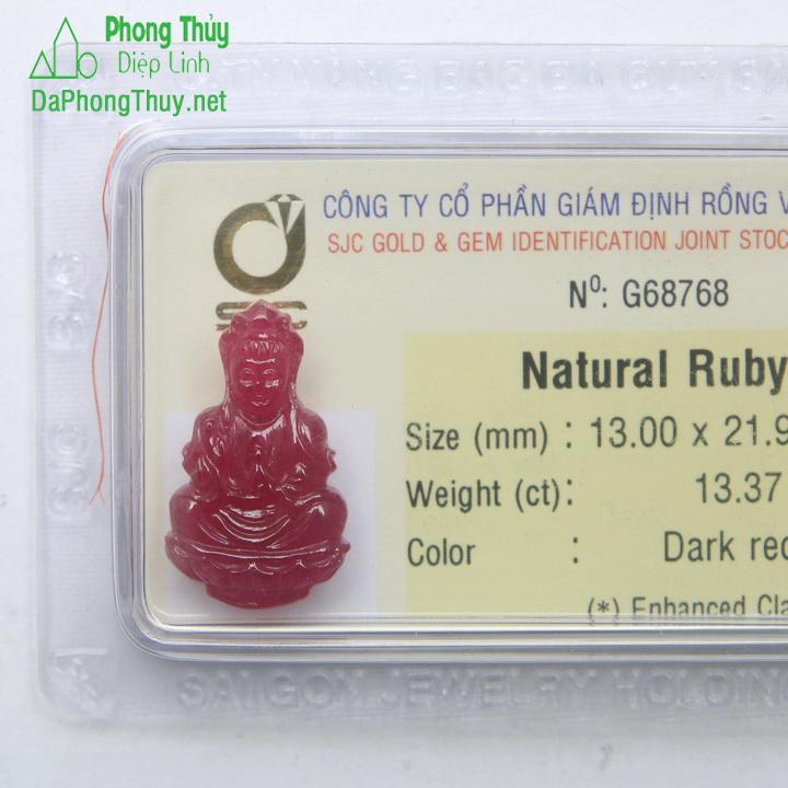 Quan Thế Âm Bồ Tát Ruby RBP13.37