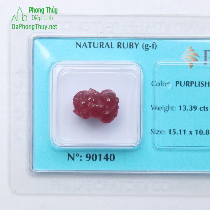 Tỳ Hưu Đá Ruby RBTH13.39
