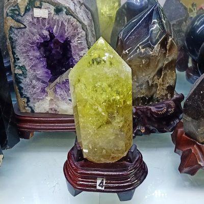 Trụ đá thạch anh vàng thiên nhiên TRUTAV4